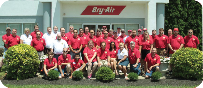 Bry-Air, Inc., founded in i 964 by Art Harms
